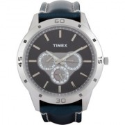 Timex Round Stainless Steel Men Watch-TW000U912