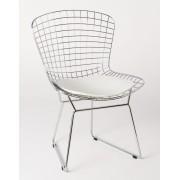Replica Harry Bertoia Bird Chair - Chrome - Various Colour Seat Cushion Only