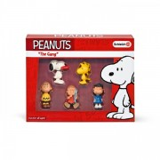 Figurine schleich peanuts the gang set 22045