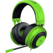 HEADPHONES, RAZER Kraken Pro V2, Analog Gaming Headset, Microphone, Green (RZ04-02050600-R3M1)