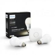 Philips Hue Startkit Vit E27 Klot 44955400 Replace: N/A