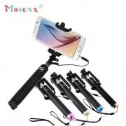 MOSUNX Handheld Self-portrait Tripod Monopod Stick For iPhone Samsung and other Smartphone selfie stick Futural Digital F25
