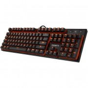 Teclado gigabyte gaming force k85 multimedia puerto extension usb 2.0 negro retroiluminado