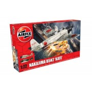 KIT CONSTRUCTIE AIRFIX AVION NAKAJIMA B5N2 KATE (4058)