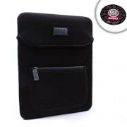 USA GEAR FlexARMOR Neoprene Tablet Carrying Case Sleeve w/ Zippered Accessory Pocket , Rear Handle & Durable Exterior...