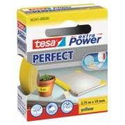 tesa Opravná páska Extra Power Perfect, textilné, odolná, žltá, 2,75m x 19mm 56341-00030-03