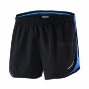 ARSUXEO Sport Marathon Running Pantalones cortos para hombre - Azul (XL)