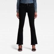 G-star RAW Femmes Midge Bootcut Jeans Noir