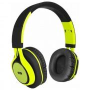 Maxy Art Cuffie Bluetooth Universali Ap-B04 Black-Lime Per Modelli A Marchio Asus