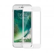 Folie sticla 5D Iphone 8 - Alb