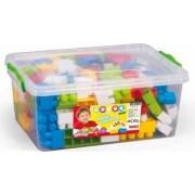 Cutie depozitare cu 130 cuburi DOLU Multicolor