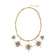 Vince Camuto Crystal Star Necklace GOLDLT HEMATITE