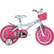 Bicicleta copii DINO BIKES 16inch - Barbie Dreams