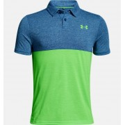 Boys' UA Threadborne Blocked Polo