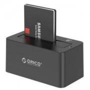 Докинг станция Orico 6619US3-BK за 3,5 и 2,5-инчови HDD и SSD устройства, 6619US3-BK_VZ
