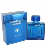Franck Olivier Blue Touch Eau De Toilette Spray 3.4 oz / 100 mL Fragrances 492064