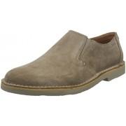 Clarks Men's Jareth Step Brown Leather Formals & Lace-Up Flats - 9 UK/India (43EU)