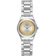 Swatch Ladies Golden Ring Watch