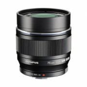 Olympus M.Zuiko Digital ED 75mm 1:1.8 MSC - montura Micro4/3 negru