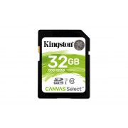 SD Kingston Canvas Select SDS 32GB class10 UHS-I SDHC(80MB/s-10MB/s)