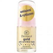 Dermacol Gold Anti- Wrinkle Base 15ml Продукт против бръчки за Жени