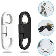 Bottle Opener Keychain Data Cable Portable 3 in 1 USB Charging Cable For iphone 5 5S 6 6S 6 7 7 Plus