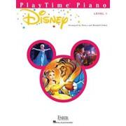 Playtime Piano Disney: Level 1, Paperback/Hal Leonard Corp
