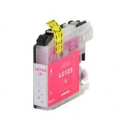 Printflow Compatível: Tinteiro Brother LC123 magenta (LC121M/LC123M)