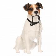 Geen Honden beeldje Jack Russel hond met riem 15 cm - Action products