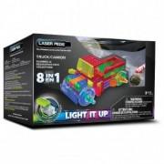 Kit Constructie cu Lumini Laser 8 in 1 - Camion