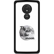 Motorola Moto G7 Power Hardcase hoesje Fly me to the Moon