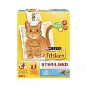 Hrana uscata pentru pisici Friskies Pisica Adult Steril, 300 g