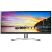 "Monitor IPS LED LG 29"" 29WK600-W, WFHD (2560 x 1080), HDMI, DisplayPort, Boxe, 5 ms (Alb/Argintiu)"