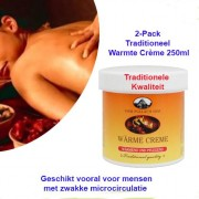 2-Pack Traditioneel Warmte Crème 250ml