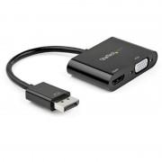 Startech Adaptador DisplayPort para HDMI/VGA Preto