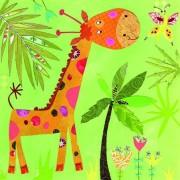 Lunchservet Happy Giraffe