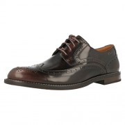 Clarks Men's Dorset Limit Chestnut Brown Leather Formal Shoes - 7 UK/India (41 EU)