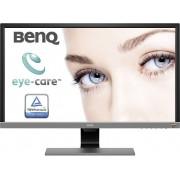 BenQ EL2870U LED-monitor 70.9 cm (27.9 inch) Energielabel B (A+ - F) 3840 x 2160 pix UHD 2160p (4K) 1 ms HDMI, DisplayPort, Hoofdtelefoon (3.5 mm jackplug) TN