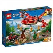 Конструктор Лего Сити, Пожарникарски самолет - LEGO City 60217
