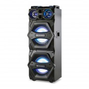 Parlante Stromberg torre DJ Mixer Bluetooth 140W DJ-5002