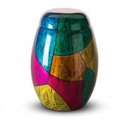 Glasfiber Urn Kleurvlakken (3.7 liter)