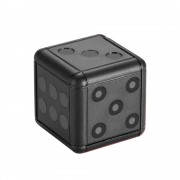 SQ16 Dice Apperance Mini Camera HD 1080P Night Vision Camcorder DVR Micro Video Camera - Black