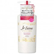 Kose Cosmeport «Je l'aime - Fulvos» Тритмент для всех типов волос «Сияние и увлажнение», цветочно-фруктовый аромат, 500 мл.