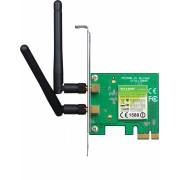 Placa de retea Wireless PCI-E 300Mbps 2T2R TP-LINK TL-WN881ND, 2 antene detasabile
