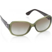 Vogue Over-sized Sunglasses(Green)