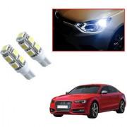 Auto Addict Car T10 9 SMD Headlight LED Bulb for Headlights Parking Light Number Plate Light Indicator Light For Audi S5