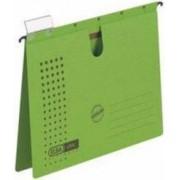 Dosar suspendabil cu sina carton 230g-mp bagheta metalica ELBA Chic - verde