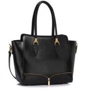 L&S Fashion LS00456 черен