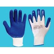 Rękawice robocze, powlekane lateksem RWnyl blue rozmiar 8