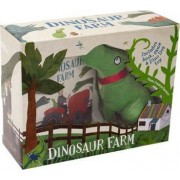 Dinosaur Farm Boxed Book and Toy Set by Frann Preston-Gannon
